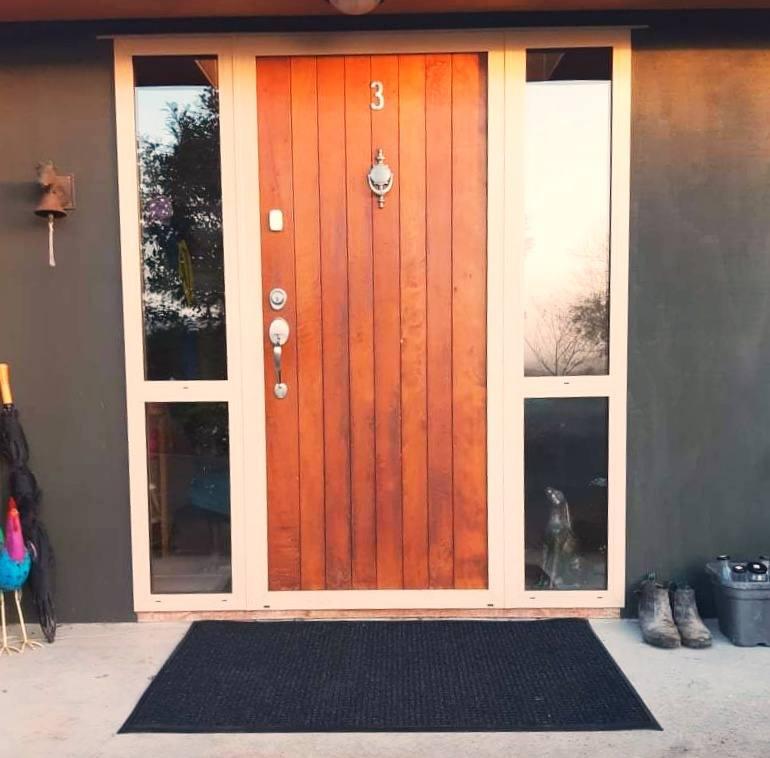 Anna's doorway - waterguard mat
