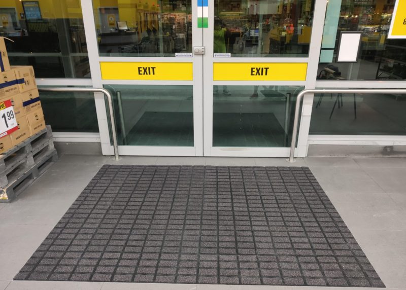 Axis Tiles in supermarket