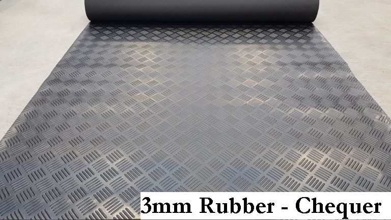 3mm solid rubber