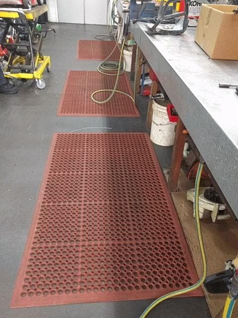 Safewalk Light greaseproof mat Terracota Workshop