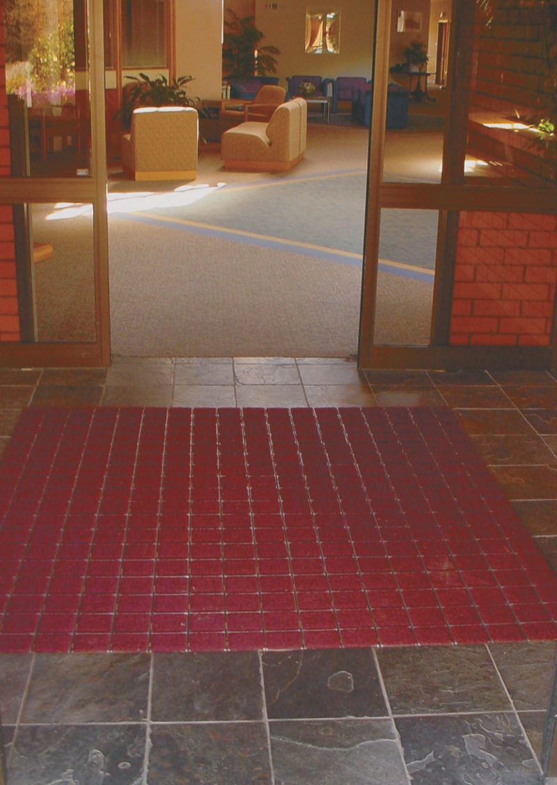Shuttle Matting in Entrance