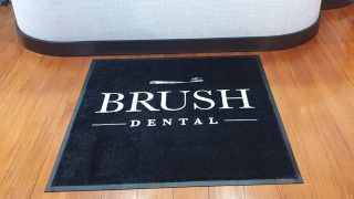 Brush Dental Reception Desk