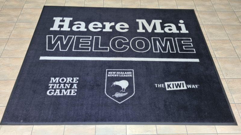 NZRL Logo Mat