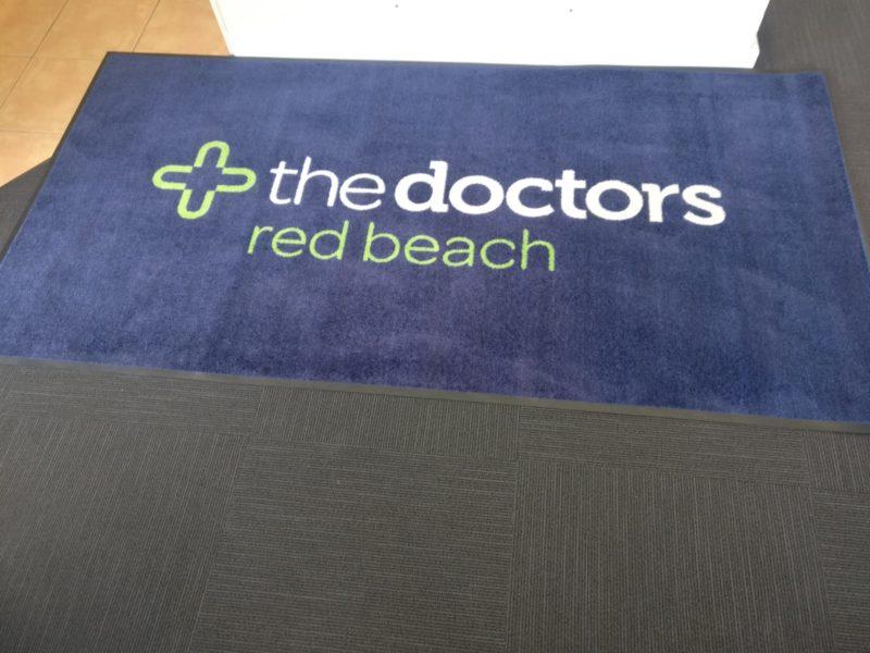 The Doctors Logo Mat