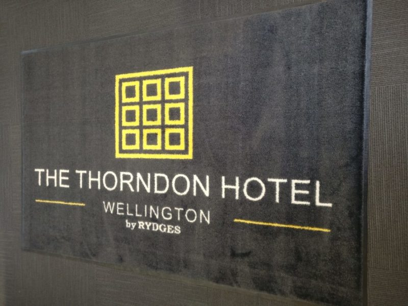 Thorndon Hotel Logo mat