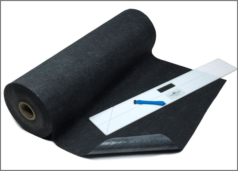 Easy to cut roll of matting