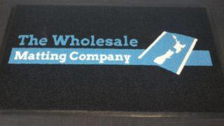 Vinyl Loop Logo Mat