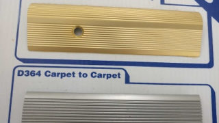 Carpet to carpet and carpet to vinyl