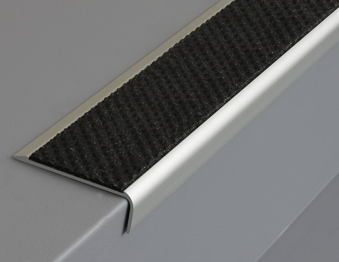 Tredsafe AA125 black stair nosings