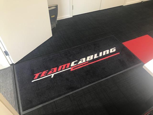 Team Cabling Mat