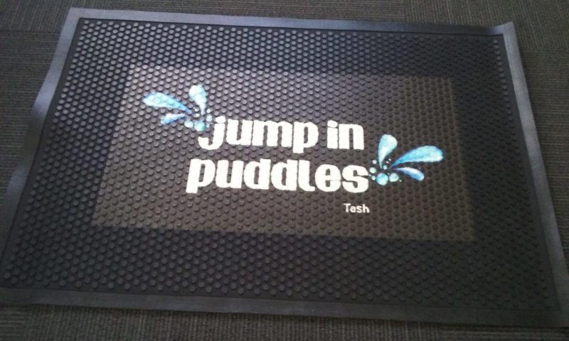 Outdoor Logo mat