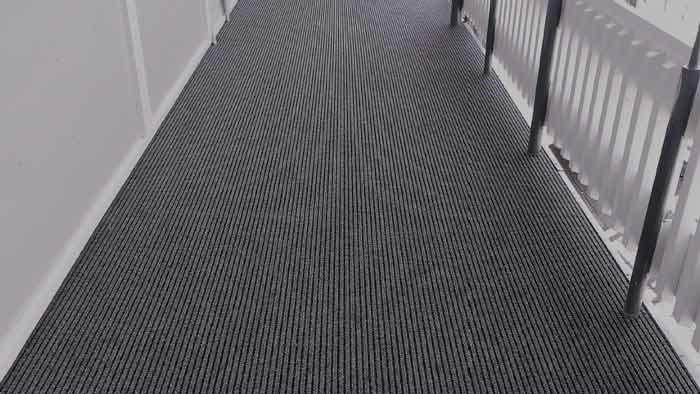 Slim-Rib outdoor carpet